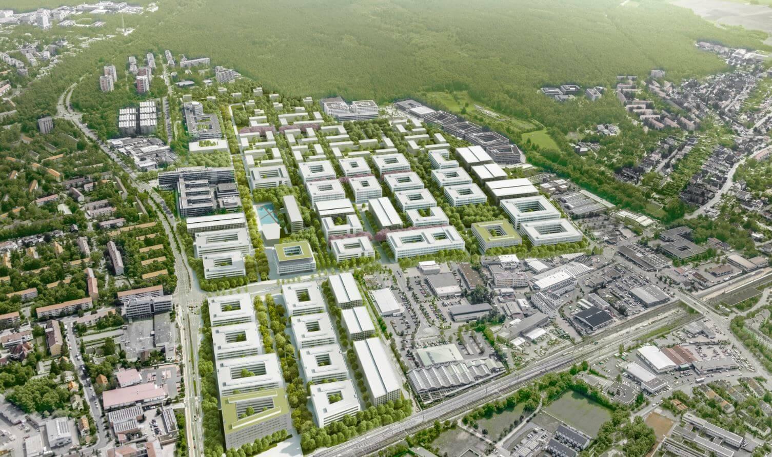 BIM Planung Siemens Campus Erlangen